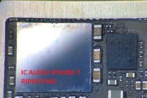 Ic audio iPhone 7