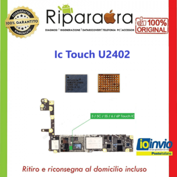 riparazione ic touch iphone