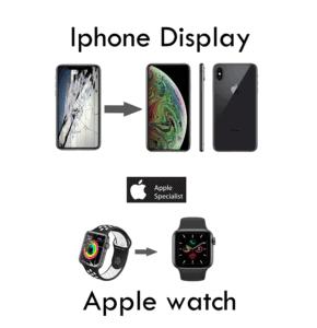 riparazione sostituzione vetro iphone apple watch