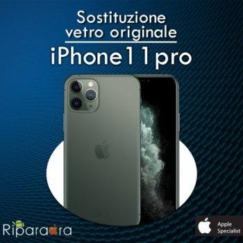 vetro iphone 11 pro