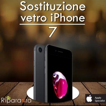 sostituzione vetro iphone 7