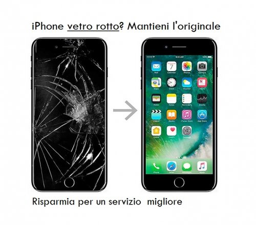 iphone 7 vetro