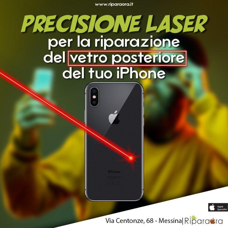 laser vetro posteriore