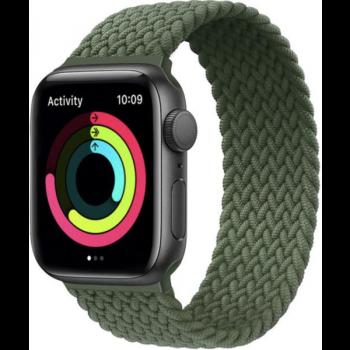 loop cinturino intrecciato verde