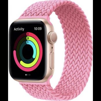 loop intrecciato rosa