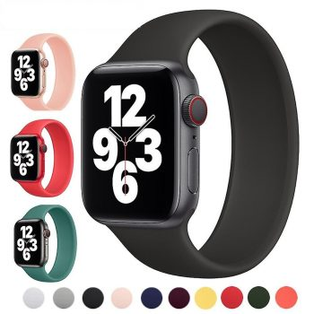 solo loop gomma cinturino apple watch