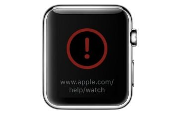 apple watch non si avvia